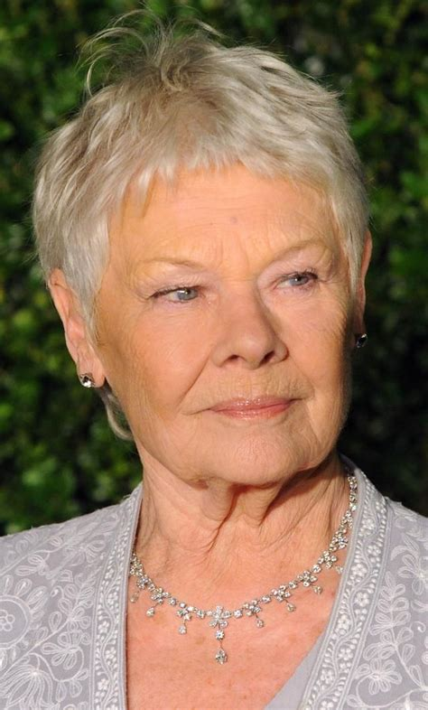 images ofdame judy dench pixie hairstyles front and back 225 best images about hair today gone tomorrow on
