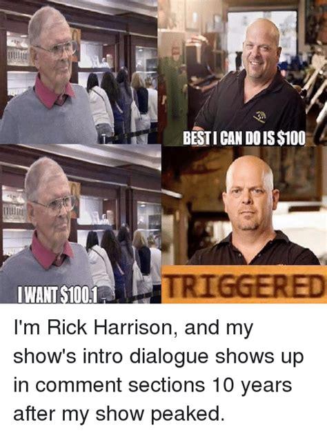 Rick Harrison Meme - funny