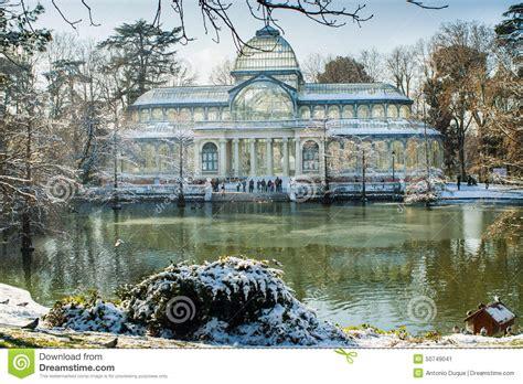 fotos invierno madrid invierno en madrid foto de archivo imagen 50749041