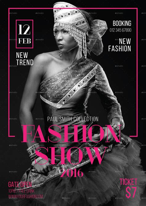 templates for fashion show flyers fashion show flyer by tokosatsu graphicriver