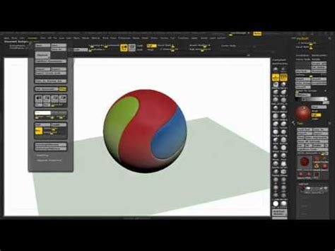 tutorial zbrush 4r5 posterize tutorial zbrush 4r5 extended version youtube