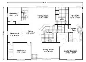 American Home Floor Plans by American Freedom Triplewide Manufactured Home Floor Plan