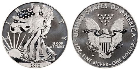 1 troy ounce american silver eagle coin value 2013 w american silver eagle bullion coins enhanced