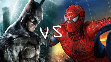 Set 3in1 Batman Vs Spider batman vs spider comic clash you decide