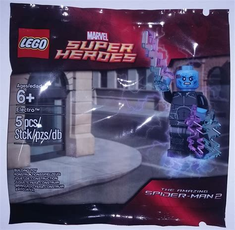 Lego Polybag 5002125 Electro complete list of all lego marvel and dc