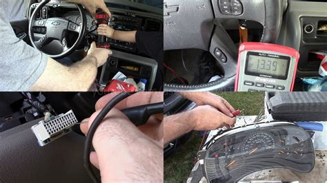 transmission control 1997 chevrolet 3500 instrument cluster 2004 tahoe instrument cluster power ground tests and bench test and cluster issues youtube