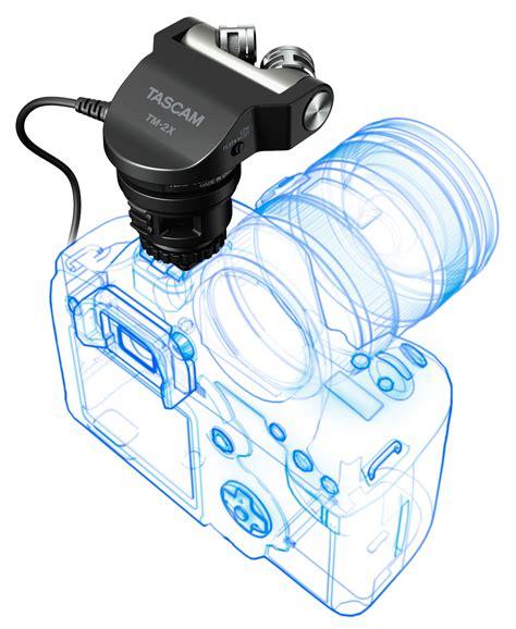Tascam Tm2x tascam tm 2x high quality x y stereo microphone for dslr