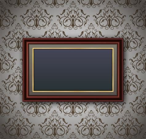 frame for pictures luxurious frame background art vector 02 vector