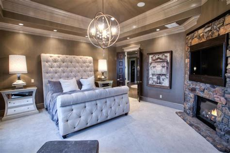 tufted bedroom ideas tufted bed bedroom contemporary with dark grey bed carved