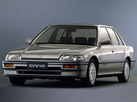 Honda Civic 1987 1987 1991 honda civic limousine autoguru katalog at