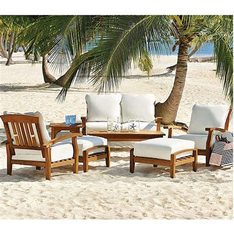 Sam's Club Teak Seating Replacement Cushions Set Garden Winds