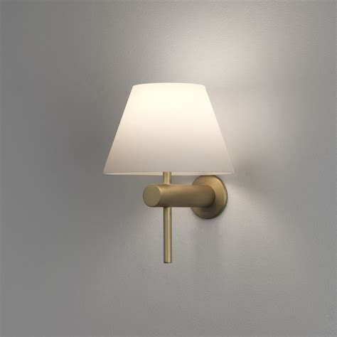 Bathroom Light Ip44 by Astro Roma Ip44 Bathroom Wall Light In Matt Gold