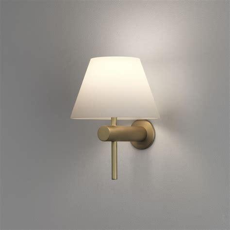 bathroom light ip44 astro roma ip44 bathroom wall light in matt gold