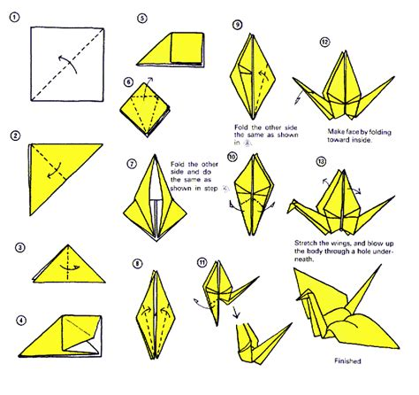 How To Fold A Bird Out Of Paper - pyssel ramsor s 229 nger m m