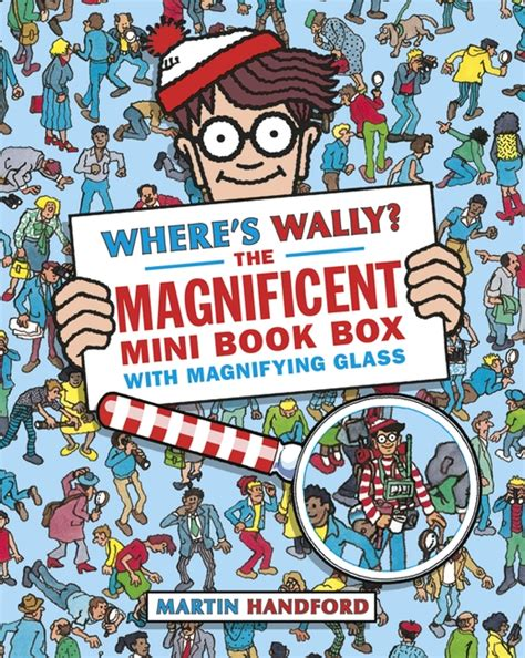 white box fantastic adventure books walker books where s wally the magnificent mini book