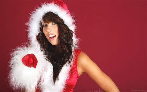 40 really hot christmas wallpapers of sexy girls