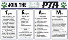 florida pta membership card template pta membership board ideas pictures pta board meeting