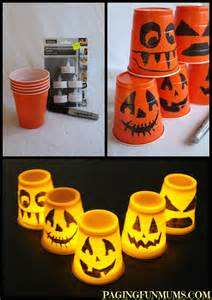 Halloween Easy To Make Decorations Halloween Cup Decorations Paging Fun Mums