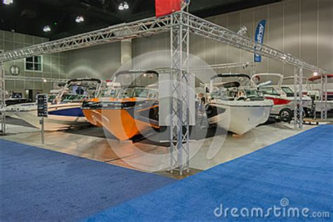 mastercraft boats los angeles mastercraft stand boats on display editorial stock image