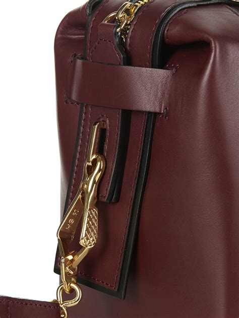 Hardy Suede And Metallic Leather Bag by Lyst Hardy Mini Suede And Leather Cross Bag