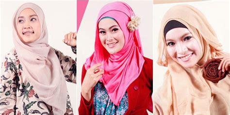 Jilbab Keren Dan Modis Fashion Top 5 Rekomendasi Tutorial Jilbab Praktis