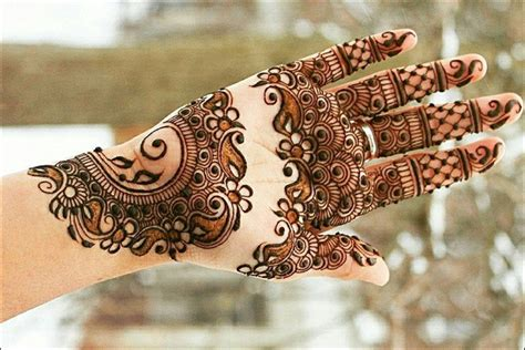 Indian Wedding Planner 11 Palm Mehndi Designs From Simple To Stunning