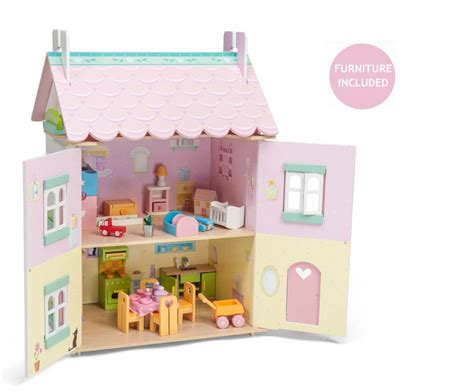 doll houses for toddlers le toy van daisylane sweetheart cottage doll house