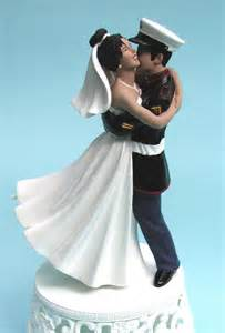 cake toppers free cake info marine wedding cake toppers