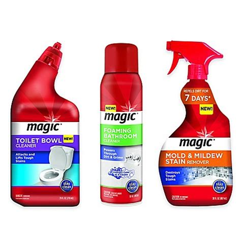 magic bathroom cleaner magic 174 bathroom cleaning solutions www bedbathandbeyond com