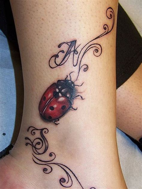 rose and ladybug tattoo ladybug these amazing ladybug themed tattoos for
