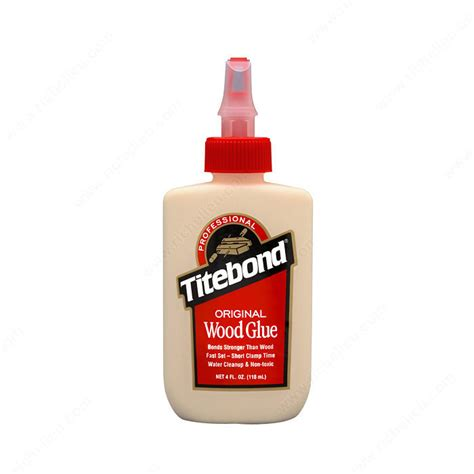 woodworking glue titebond original wood glue richelieu hardware