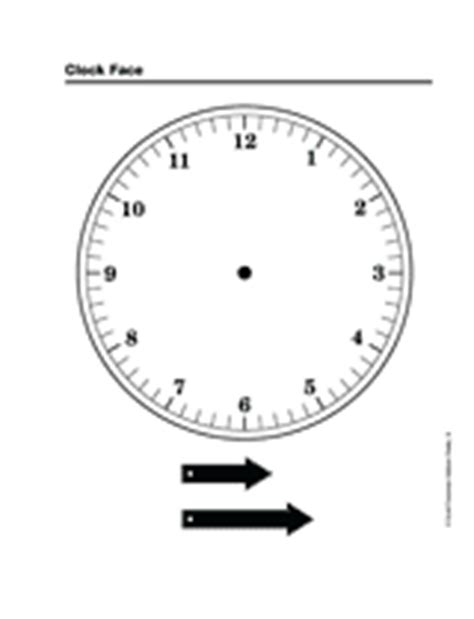 printable clock with movable hands clock face grades 3 6 printable 3rd 6th grade
