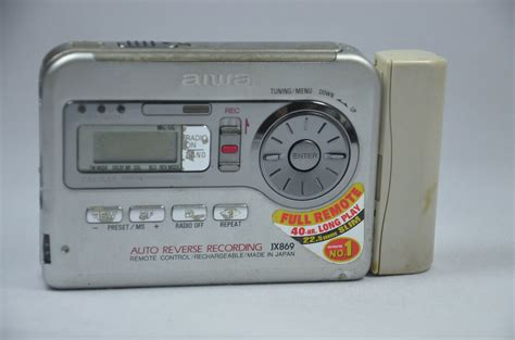 aiwa cassette player aiwa stereo radio cassette recorder hs jx869 personal