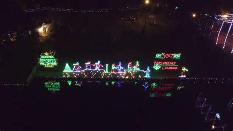 natchitoches louisiana christmas lights 2015 youtube