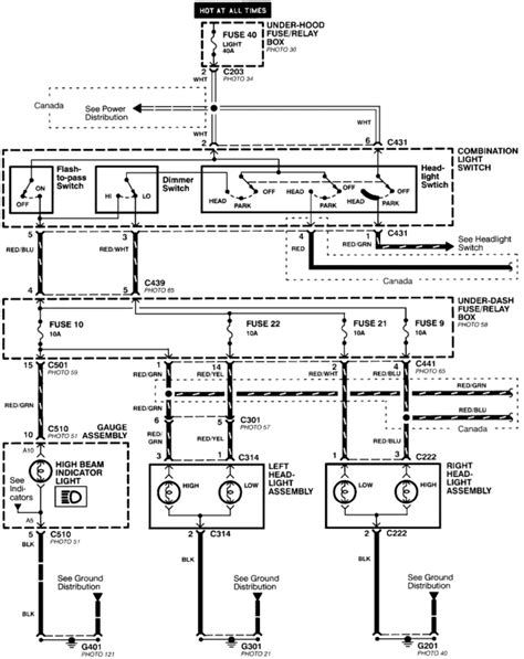 2000 honda civic headlight wiring diagram agnitum me