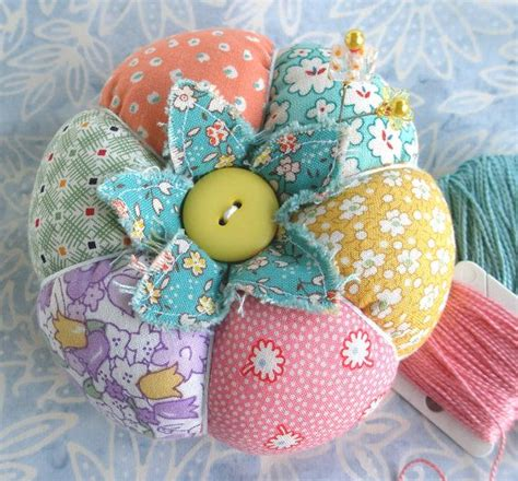 Patchwork Pincushion Pattern - 1930 s inspired patchwork tomato pincushion the o jays