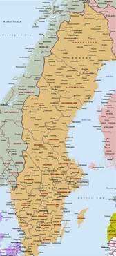map of cities maps europe map of sweden cities pictures