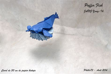 Origami Puffer Fish - jang yong ik s favorite flickr photos picssr