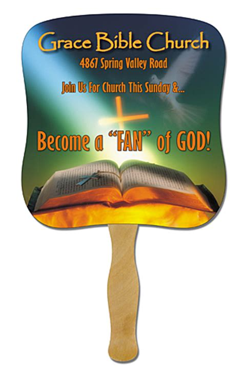 design your own church fans jesus fans church fans paper fans