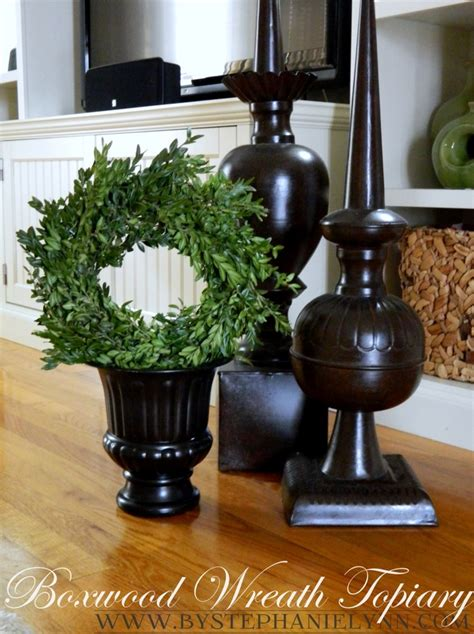 how to make a boxwood topiary how to make a preserved boxwood wreath topiary
