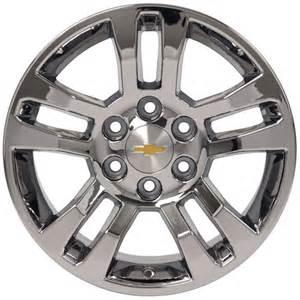 Chrome Wheels For Chevy Truck Chevrolet Silverado Pvd Chrome Wheel