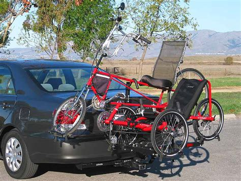 are there any recumbent tricycles that can be transported