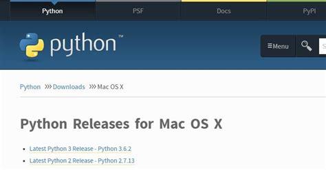 tutorial python mac mac python tutorial for beginners