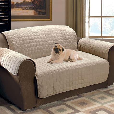 couch coves faux suede pet furniture covers for sofas loveseats and
