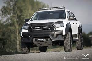 m sport ford ranger up gets the raptor treatment