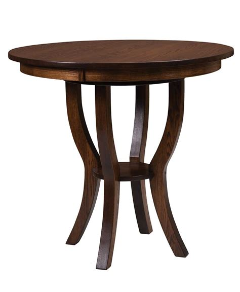 dillon bistro table amish direct furniture
