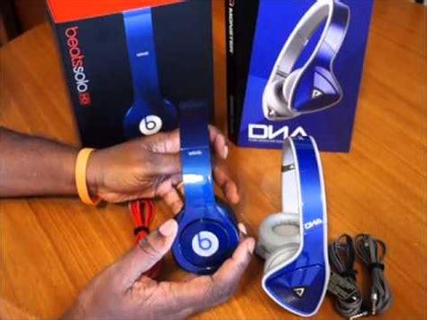 beats by dre hd unboxing new color smartie blue beats by dre hd vs sol republic tracks hd doovi