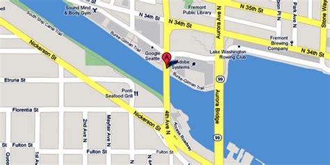 seattle map fremont pulled from water in fremont seattle 911 a