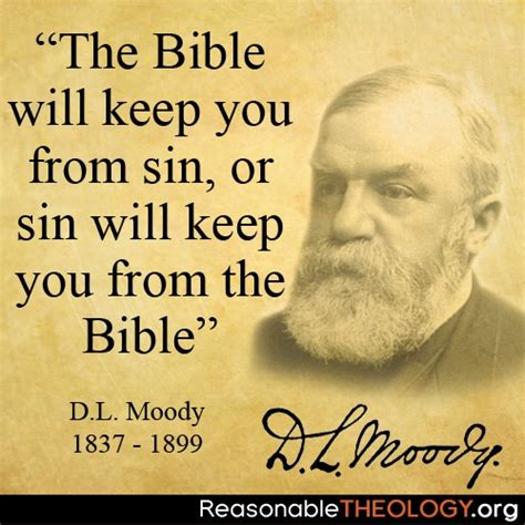 the bible will keep you from or by dwight l moody