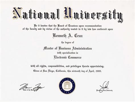 Clemson Part Time Mba Tuition by Mba In E Commerce Management Los Angeles Ca Usa 2000